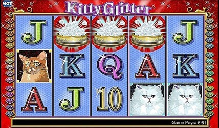 Kitty Glitter Slot screenshot 3