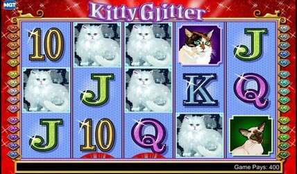 Kitty Glitter Slot screenshot 1