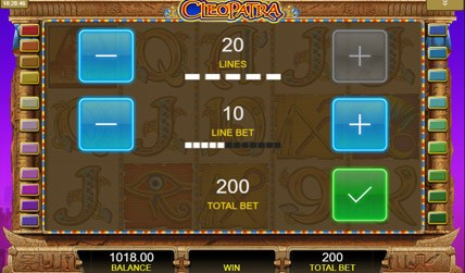Cleopatra Slots screenshot 3