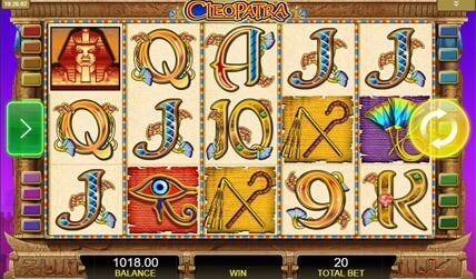Cleopatra Slots screenshot 1