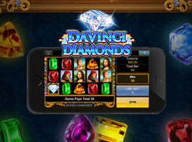 It's Time for You to Amuse Yourself with the Preeminent Davinci Diamond Slots App