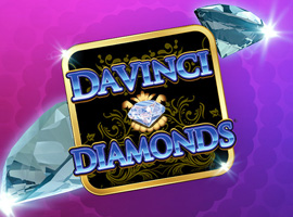 How to Boost Possibilities of Gains : Davinci Diamond Slots Test