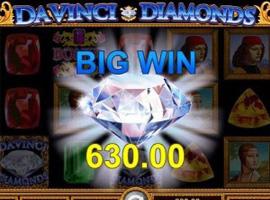 Make the Utmost from Punting with Davinci Diamond Slots Bonus