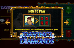 To Play Gainfully You Need to Download Davinci Diamond Slot to install on your Gadget
